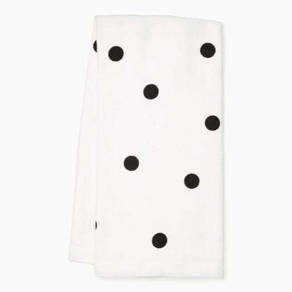 🆕 Kate Spade ♠️ Polka Dot Kitchen Tea Towel Set